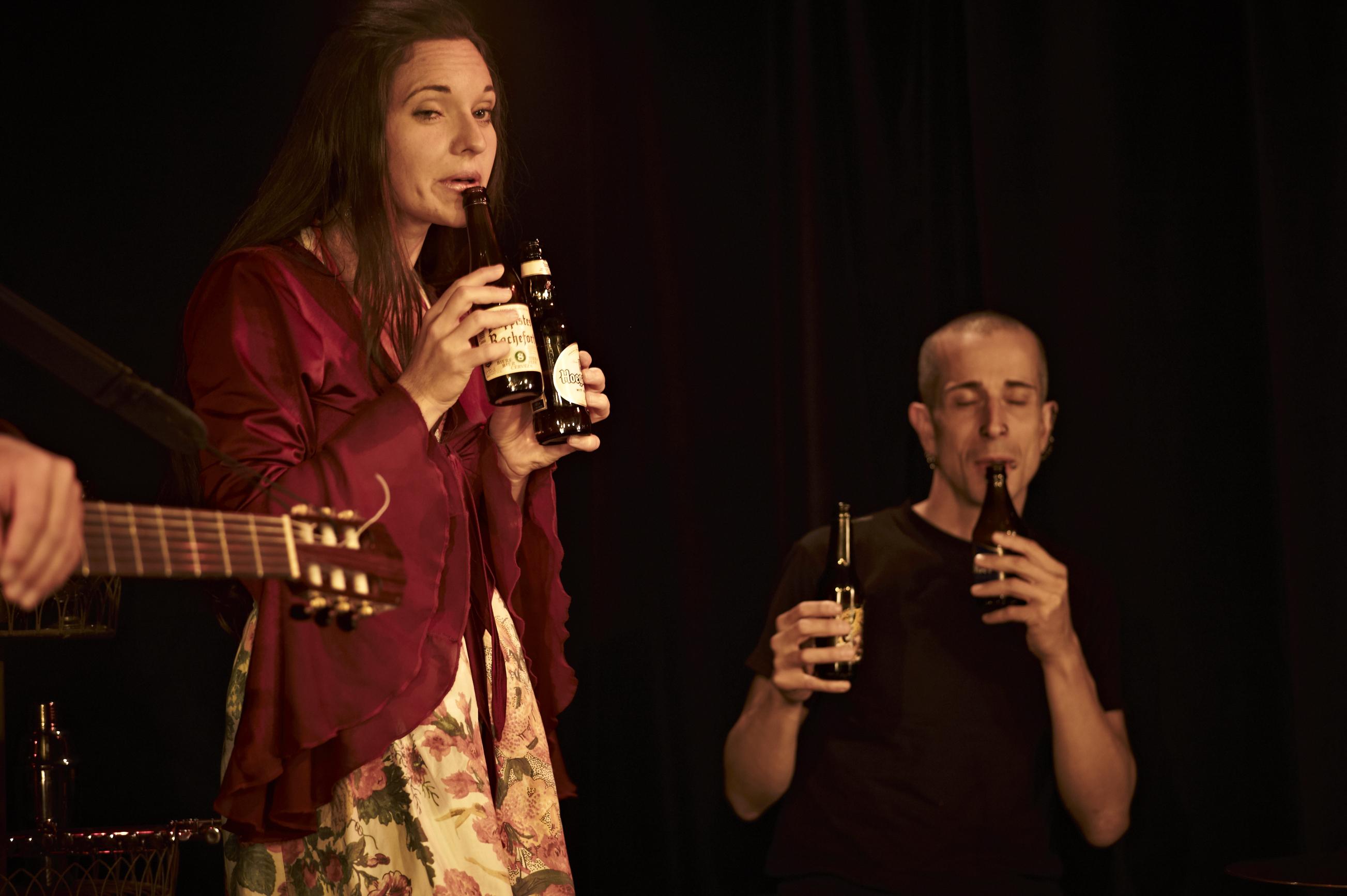 bouteille trio